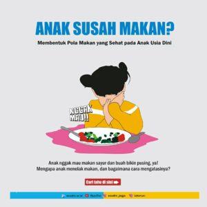 pola makan sehat pada anak