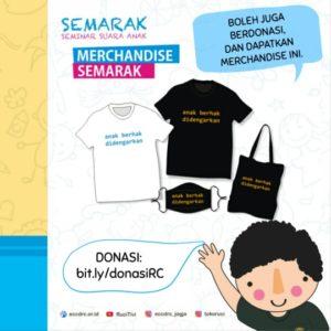 merchandise donasi hak anak tokoruci